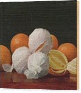 William J. Mccloskey 1859 - 1941 Untitled Wrapped Oranges Wood Print