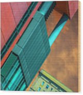 William Jones College And Hilton Chicago Dsc6977 Wood Print