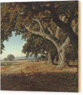 William Keith - California Ranch - 1908 Wood Print