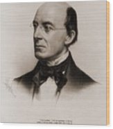 William Lloyd Garrison 1805-1879 Joined Wood Print by Everett