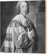 William Pitt, Prime Minister Of Britain Wood Print