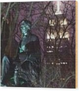 William Seward And Empire State Building 1 Wood Print