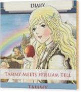 William Tell Cover Art Wood Print