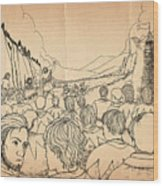 William Tell Offers Freedom Wood Print
