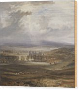 William Turner ,the Burning Wood Print
