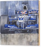 Williams Bmw Fw24 2002 Juan Pablo Montoya Wood Print