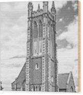 Williams College Thompson Memorial Chapel Wood Print