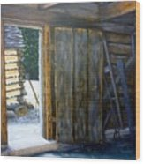 Williamsburg Barn Wood Print