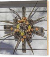 Williamsburg Wreath 23 Wood Print