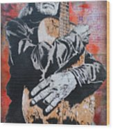 cb6d0f0e141 Willie Nelson And Trigger Art Print by Josh Cardinali