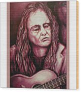 Willie The Print Wood Print
