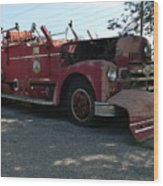 Willig Collection 6 Fire Truck Wood Print