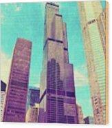 Willis Tower - Chicago Wood Print