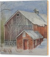Williston Barn Wood Print