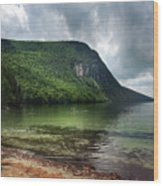Willoughby Lake In Westmore Vermont Wood Print