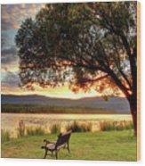 Willow Bay Wood Print