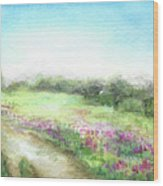 Willow-herb Wood Print