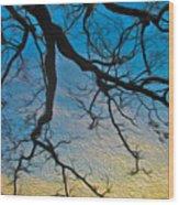 Willowbrush Wood Print