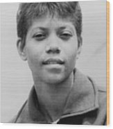Wilma Rudolph, 1940-1994, Was The First Wood Print by Everett