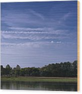 Wilmington River Savannah Morning Wood Print
