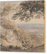 Wilmot's Hill, Kent Wood Print