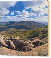 Wilpena Pound And St Mary Peak Wood Print