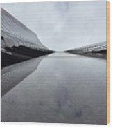 Wilshire River Wood Print