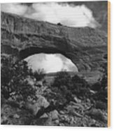 Wilson Arch No 1 Wood Print