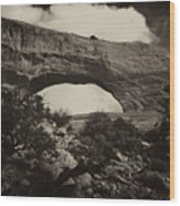 Wilson Arch No 1a Wood Print