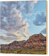 Wilson Cliffs Wood Print