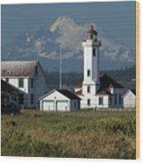 Wilson Point Lighthouse Wood Print