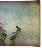 Wilting Rose Wood Print