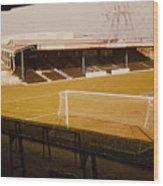 Wimbledon Fc - Plough Lane - Main Stand 1 - 1969 Wood Print