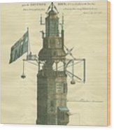 Win Stanley's Lighthouse Wood Print