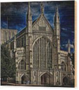 Winchester Cathedral Wood Print