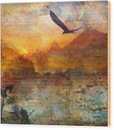 Wind Beneath My Wings Wood Print