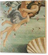 Wind God Zephyr Wood Print