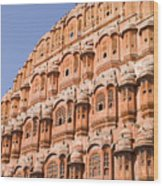 Wind Palace - Jaipur Wood Print