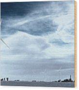 Wind Power Wood Print