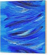 Wind Song I Wood Print