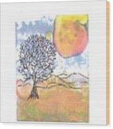 Windblown 7 Wood Print
