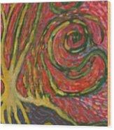 Winding IIi Wood Print