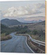 Winding Road Wood Print