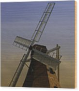 Windmill At Windjammer Park Wm6887a Wood Print