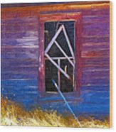 Window-1 Wood Print