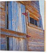 Window 3 Wood Print