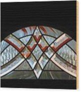 Window Arch Wood Print