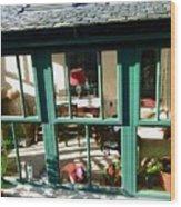 Window At Corcreggan's Mill Wood Print
