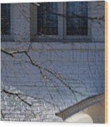 Window Blue - 1 Wood Print