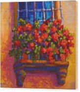 Window Box  Wood Print